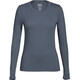 super.natural W's Base LS 175 Shirt Quiet Shade Melange